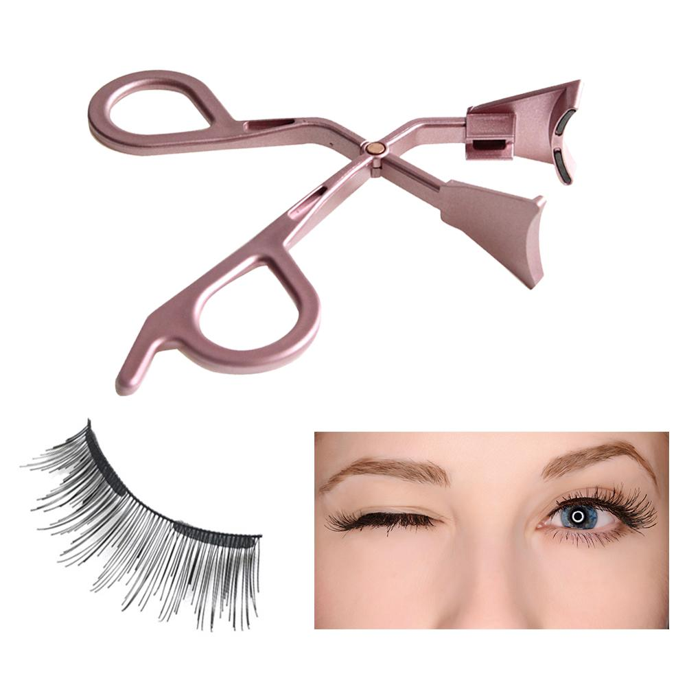 Magnetic <font><b>Eyelash</b></font> <font><b>Applicator</b></font> Magnetic <font><b>Eyelash</b></font> Partner Magnetic Lashes Tweezers Clip Easily Apply Magnetic <font><b>Eyelash</b></font> Tool image