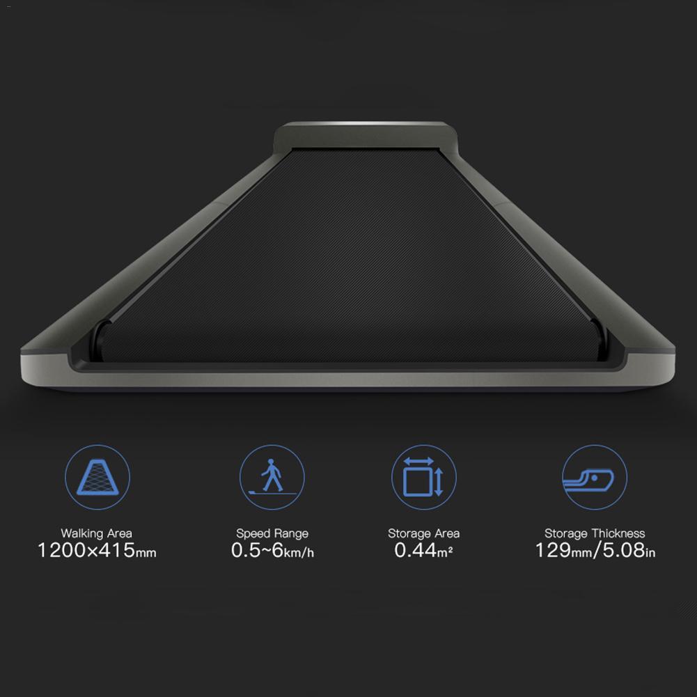 A1 Smart électrique pliable WalkingPad contrôle de vitesse automatique LED affichage Fitness perte de poids salle de sport intérieure - 4