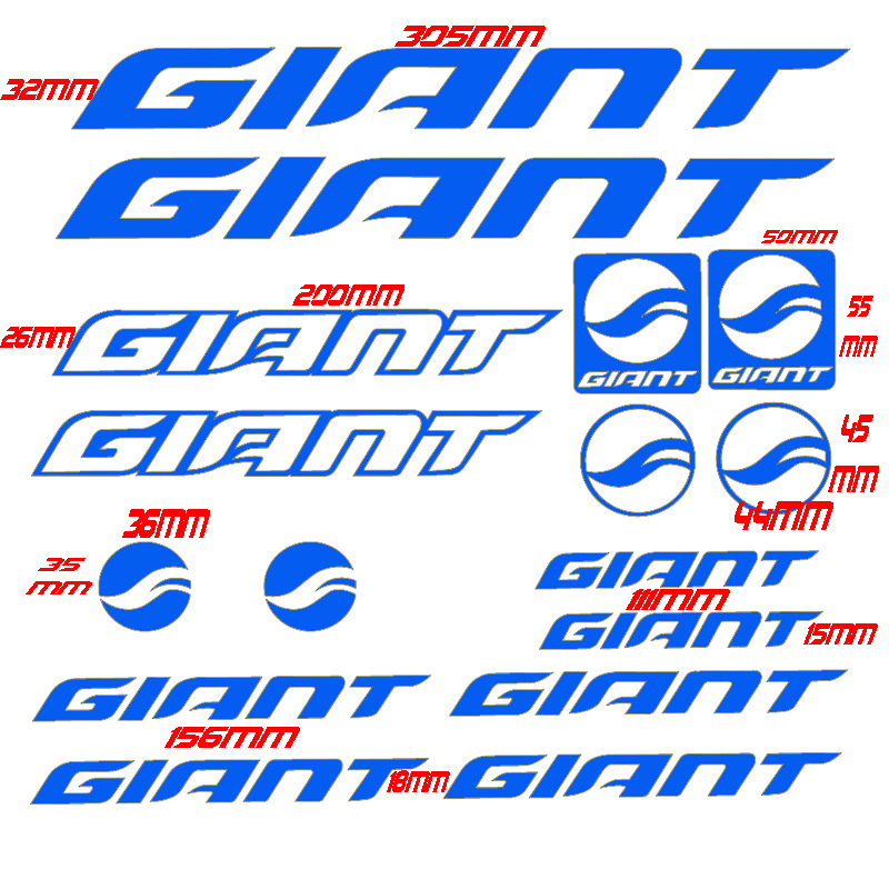<font><b>GIANT</b></font> <font><b>bike</b></font> frame sticker Road <font><b>bike</b></font> <font><b>accessories</b></font> bycicle MTB stickers cycling race Vinyl waterproof protection decal Free shipping image