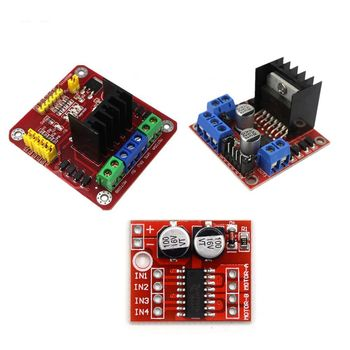 L298N New Dual DC Motor Drive With Driving Ability/low heat/Anti-Jamming Features for Arduino Diy Kit