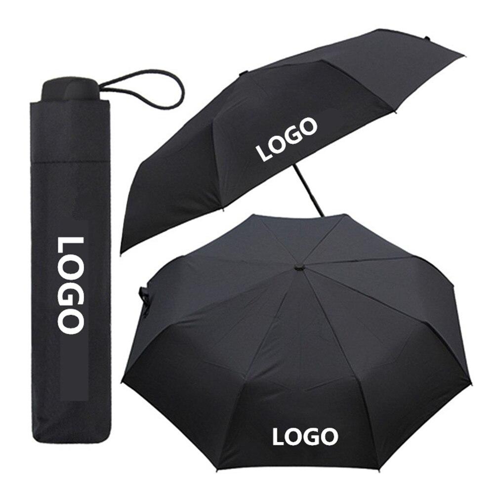 1X parapluie personnalisable pour Toyota Honda Nissan Mercedes BMW Renault Lada Ford Buick accessoires de voiture universels