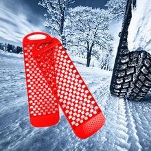 Shunmu – planche de sauvetage antidérapante pour voiture, 2 pièces, piste de récupération, pneu de route, échelle sable boue, accessoires de voiture