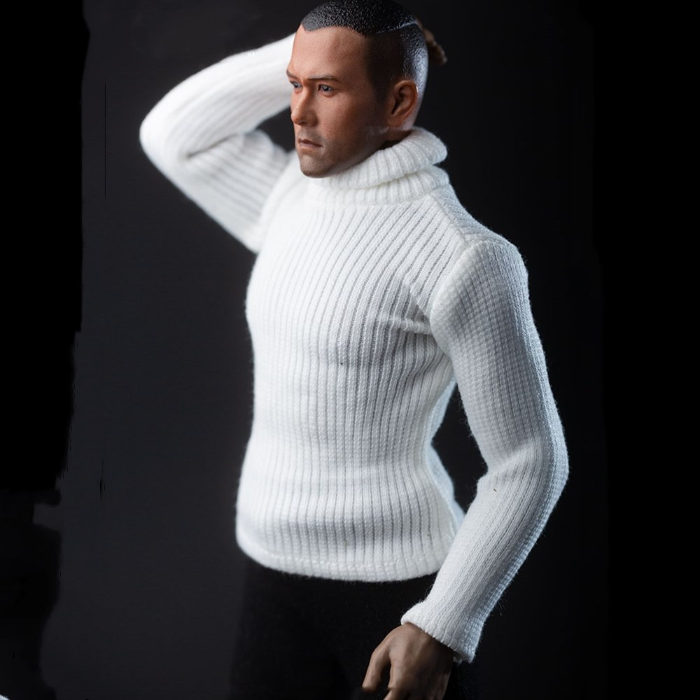 1//9 Male Female Sweater Action Figure Sweater 1:9 Scale Female Doll 2 Color