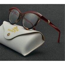 """Новые женские модные сексуальные леопардовые очки """"Кошка"""", оправа для девушек, очки для близорукости по рецепту, оптические очки с Чехол NX"""
