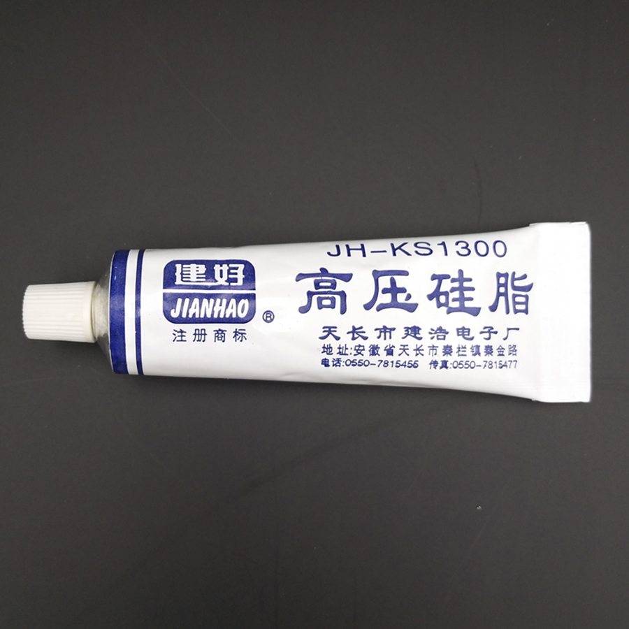 High Voltage Silicon Grease Insulation Rust Moistureproof Translucent Non-Curing For TV FBT Component High Pressure Parts