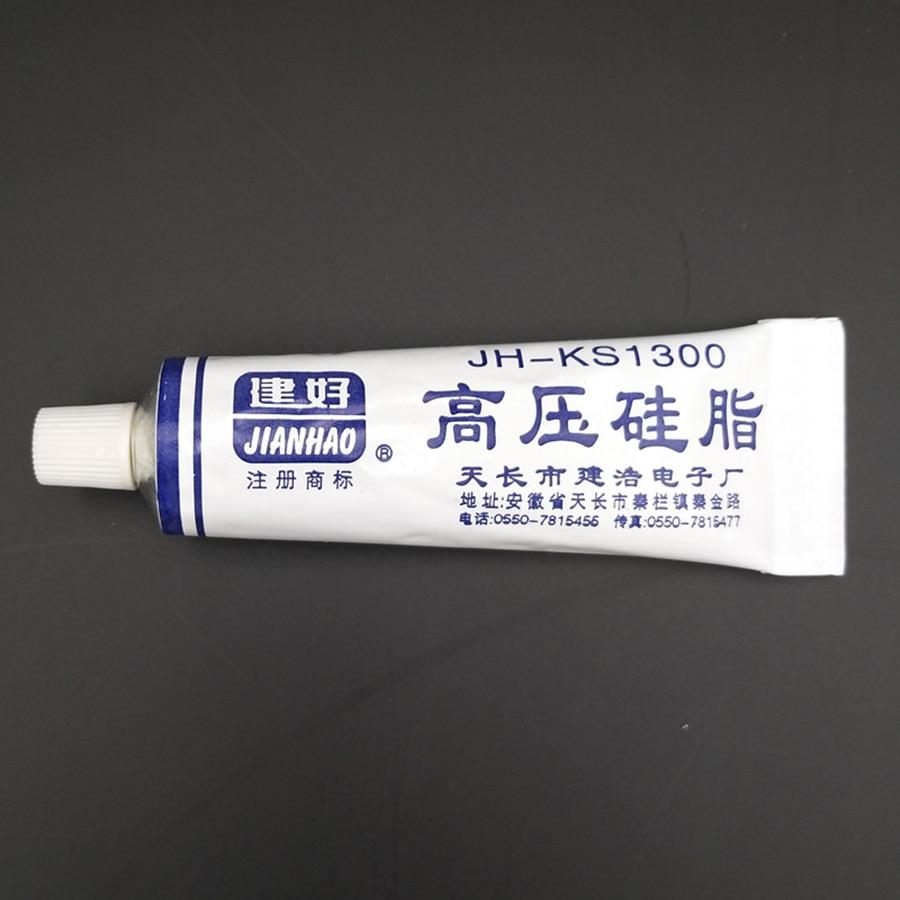 Высоковольтная силиконовая смазка, изоляция от ржавчины, влагостойкая, полупрозрачная, не отверждаемая, для ТВ FBT, компоненты высокого давл...
