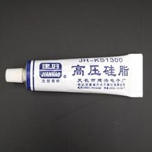 Isolamento de graxa de silicone de alta tensão, à prova de ferrugem, não-cura transparente para tv fbt componente de alta pressão peças