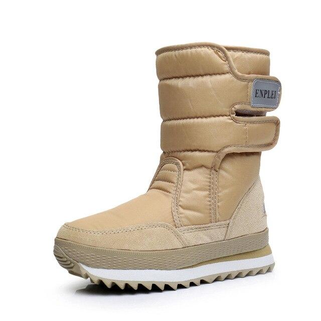 Dwayne womens snowboots waterproof warm plush boots non slip snow boots Botas de mujer Botas de invierno de mujer plus size