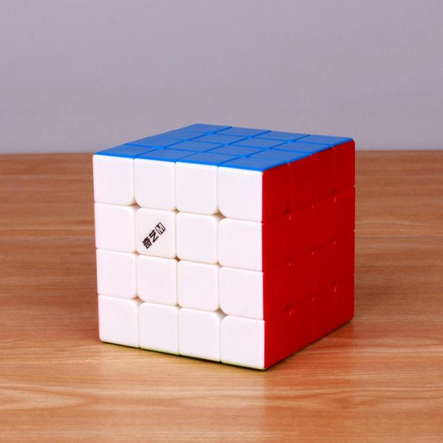 QiYi MoFangGe Qiyi MS Series 4×4 Magnetic Magic Cube Professional Qiyi M S 4x4x4 Speed Cube Stickerless Magnets Cube Puzzle