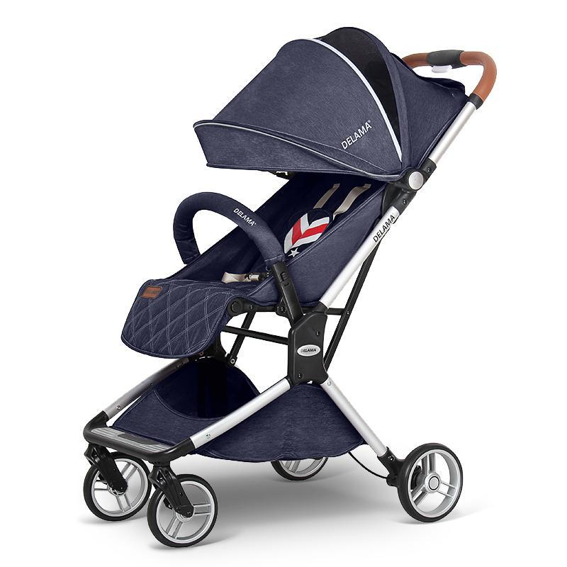 Foldable Light, You Can Sit Down, You Can Lie Ultra Light Pocket Car Stroller