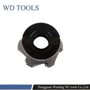 Image 5 - RPMW Rotonda Inserti in metallo duro faccia mill holder EMR 5R 6R 50 63 80 4T 5T 6T fresa fresatura cnc strumenti