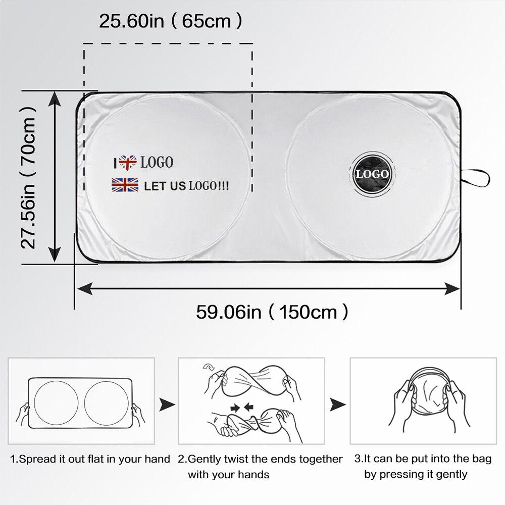 Солнцезащитный козырек для лобового стекла автомобиля солнцезащитный