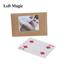 Cromossoma gradual truques de magia cartão mudança de cor close-up palco rua magia adereços divertido mentalismo ilusão truques mágico