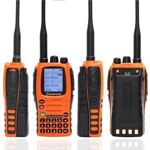 Image 4 - 10W Wouxun KG UV9D Companheiro 7 Banda Incluindo AirBand 3200mAh Walkie Talkie Rádio Amador amador de banda Repetidor Cruz Atualização KG UV9D Plus