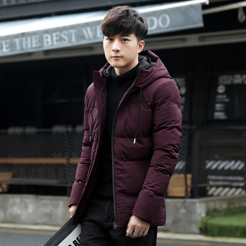 Hot Fashion Hooded  Autumn Coat Men Casual Thicken Warm Mens Winter Jacket Windproof Parka New Style Cotton Male Padded Clothes