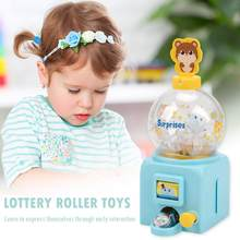 Desktop Toys Electric Lucky Ball Machine Long Service Life Party Gifts Work Exquisite for Children Adults 14.5x7x5.5cm(China)