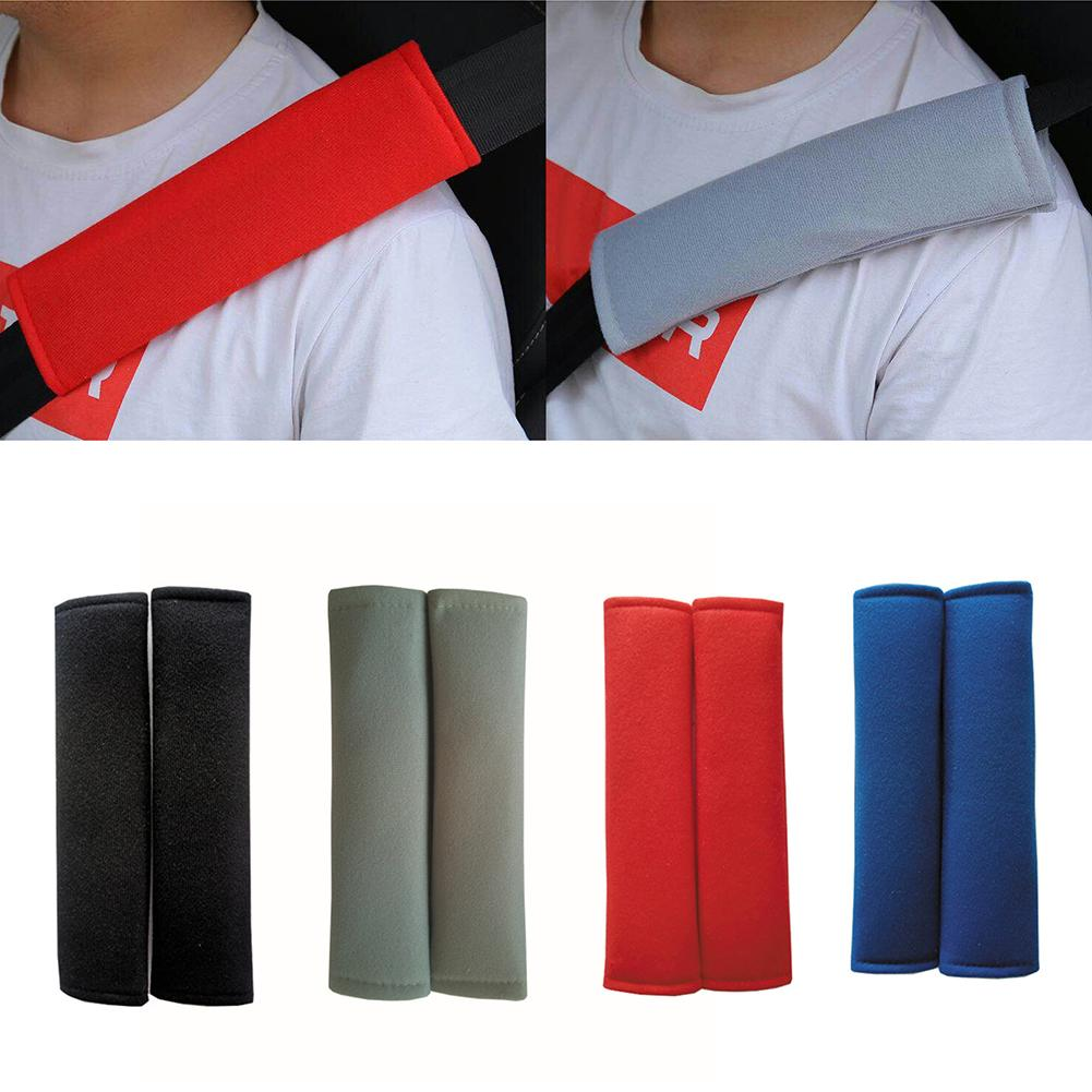 1 пара Универсальный автомобильный ремень колодки сиденье плечевой ремень подушка крышка для автомобильного ремня протектор Безопасность ...