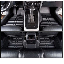 lsrtw2017 leather car floor mats carpet rug for audi a4 avant 2008 2009 2010 2011 2012 2013 2014 2015 2016 b8 accessories mat