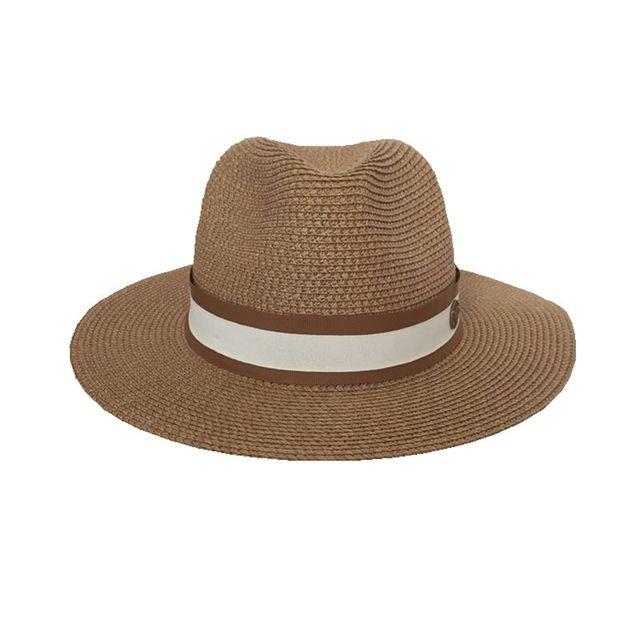 Sombrero de paja jazz para primavera y verano, gorro de sol transpirable, gorro de joker para viaje en la calle