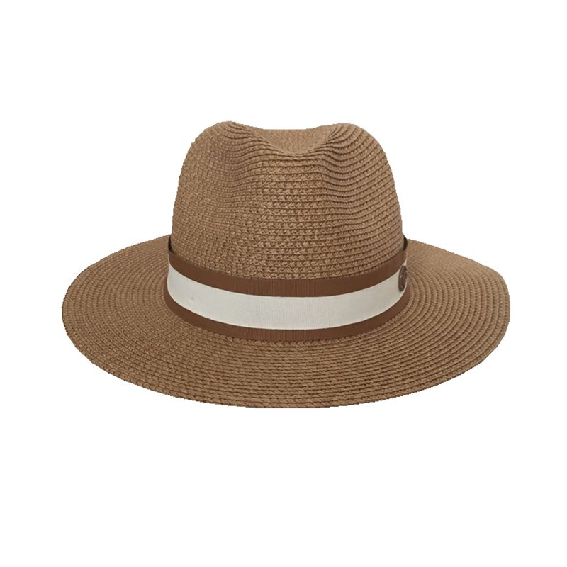 The Spring/summer Jazz Straw Hat Sun Hat Breathable Hat Street Travel Joker Bonnet