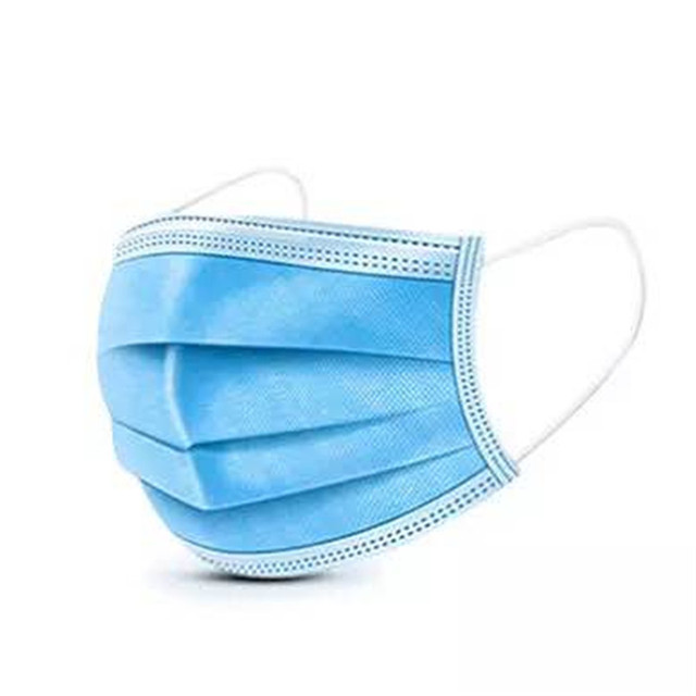 1/10/20/30/50 Pieces/Pack Disposable mask Flu Hygiene Face Mask3-Layer Non-woven Disposable Elastic Mouth Soft Breathabl 3