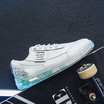 2021 mężczyźni Sneakers buty do biegania i chodzenia na zewnątrz jasne podeszwa Triple biały czarny moda sportowe Nyfw istotą ACE trenerów tanie i dobre opinie OFFORCE CN (pochodzenie) Spring2019 Dobrze pasuje do rozmiaru wybierz swój normalny rozmiar Na twardy kort Profesjonalne