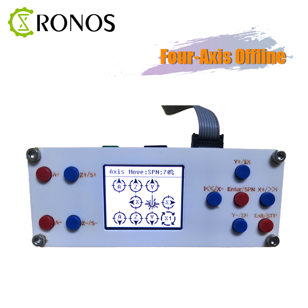 CNC GRBL 4 Four Axis Offline Offline Controller Board CNC Controller For 3018 Pro Engraving Machine Carving Milling Machine