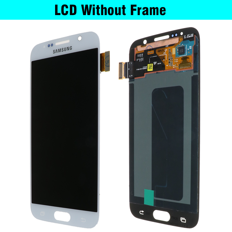 H0d2cf65135684139a1e21935df25cfdbd ORIGINAL 5.1'' Super AMOLED Replacement LCD S6 for SAMSUNG GALAXY S6 G920 SM-G920F G920F G920FD Touch Screen Digitizer Assembly