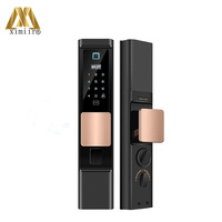 High Quality Fingerprint Lock XM 768 Smart Locks For Home Automatic Electronic Security Biometric Fingerprint Door Lock
