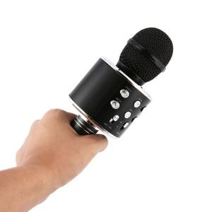 Image 5 - New Portable Wireless Microphone Bluetooth Karaoke Home Mic Stereo Speaker Player USB Studio KTV Music Online