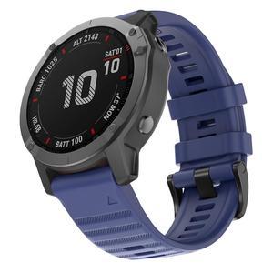 Image 2 - 26, 22, 20 мм, ремешок для смарт часов Garmin Fenix 6X 6 6s Pro 5S плюс 935 3 HR часы, быстросъемный силиконовый легко регулируемый ремешок для наручных часов