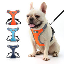 Dog Safety Vest Sport Harness | No Pull Harnesses Leash Attachments, Comfortable Neoprene Padded Lining, Reflective Safety Stitc