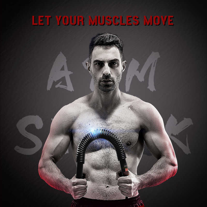 Spring Arm Strength Hand Gripper Arm Power Blaster Fitness Equipment
