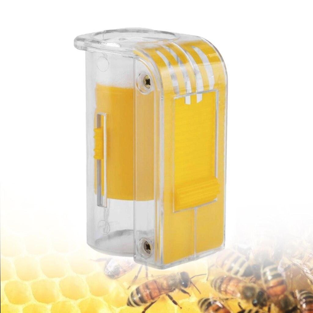 Handed Queen Bee Marking Catcher Plastic Marker Bottle Plunger Plush Beekeeping Equipment Garden Bee Keeping Beekeeper Tools
