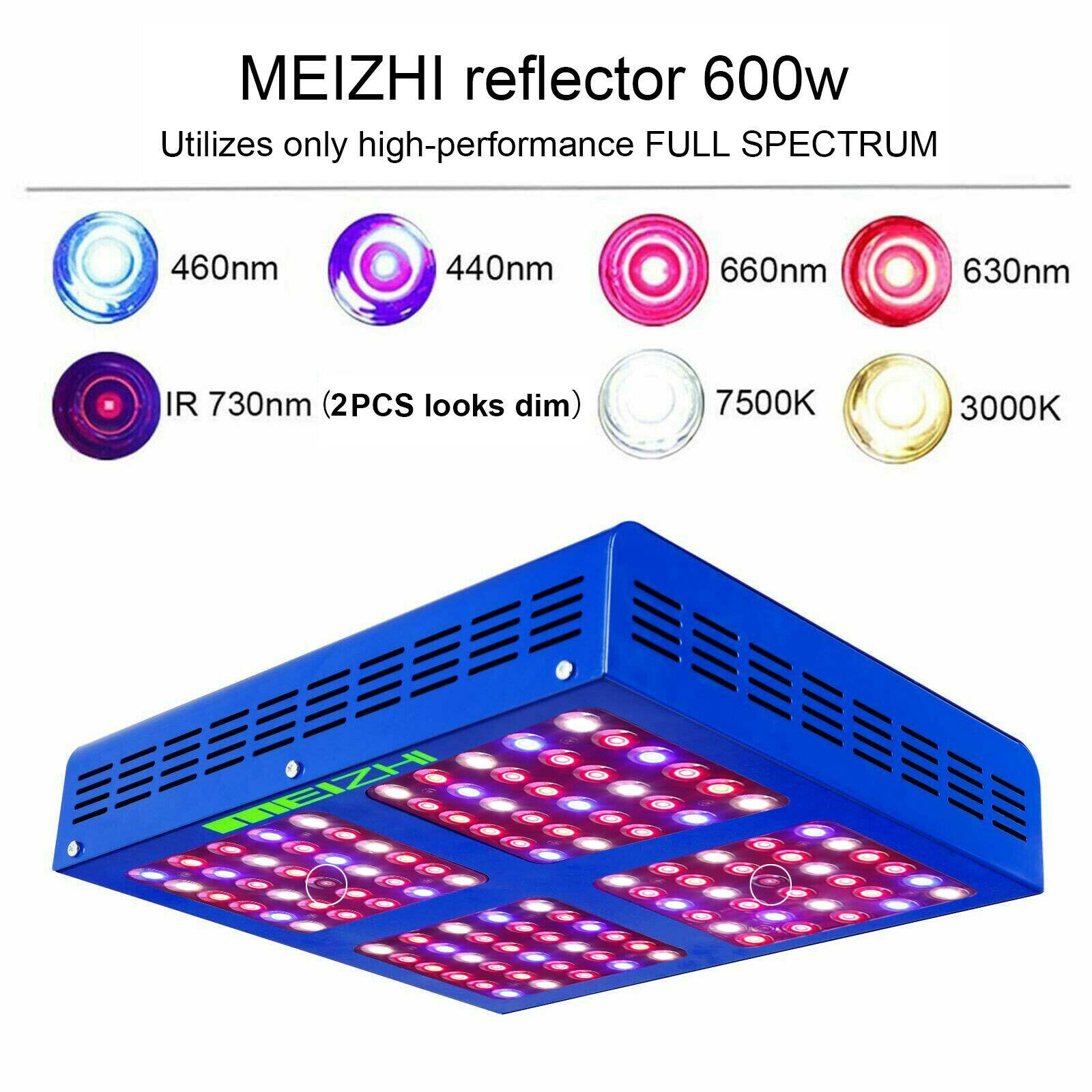 yoyoS 600 Watt pro Licht Set 600 HPS Dual Spectrum Lampe Reflektor