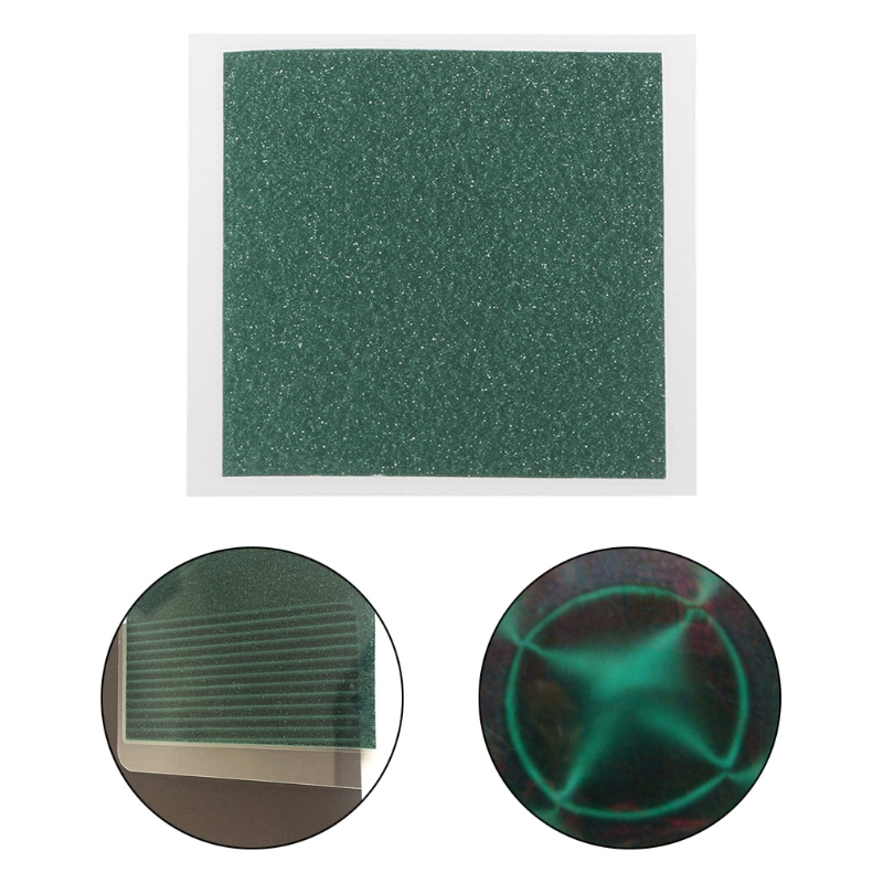 Magnetic Field Viewer Viewing Film 50x50mm Card Magnet Detector Pattern Display