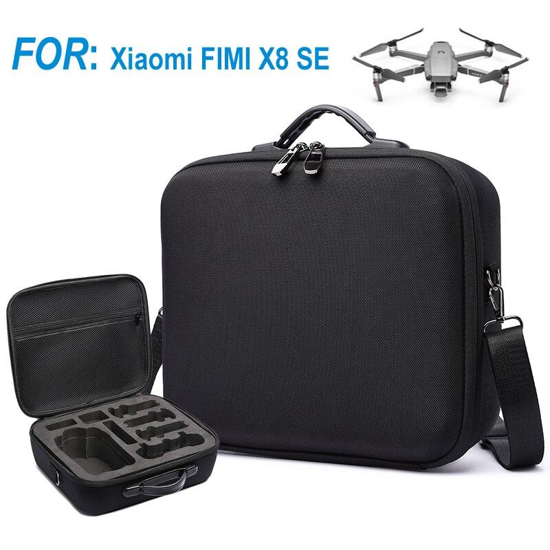 Drone sac caméra Drone étui pour Xiaomi FIMI X8 SE Drone étui 4K caméra FIMI SE aéronef sans pilote (UAV) Feshion étanche boîte de rangement EVA étui de transport