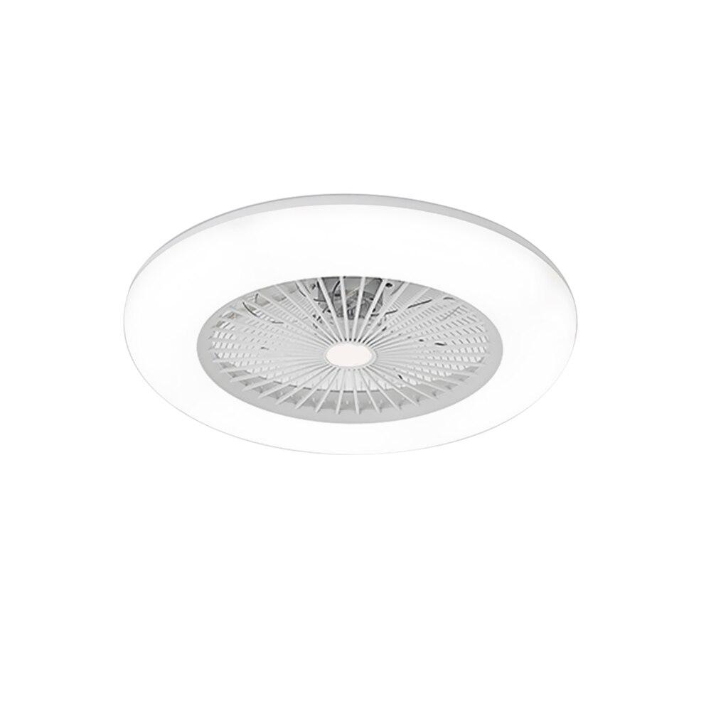luz inteligente ventilador suporte conexão bluetooth para sala