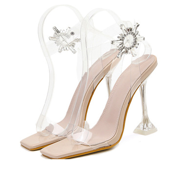 2020 Super High Heels Shoes Women Sandals Fashion Brand Woman Party Shoes Sexy Ladies High Heels Sandals Thin Heel 11cm A2368 original intention super sexy women sandals thigh high cut outs open toe thin heels sandals gold shoes woman plus us size 4 15