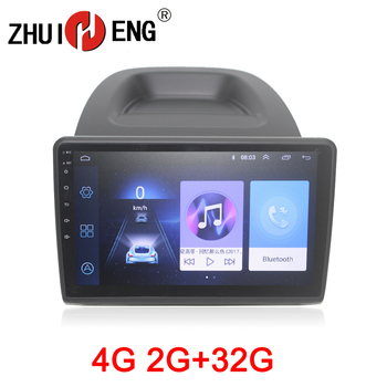 ZHUIHENG 2 din Car radio for Ford Ecosport 2018 car dvd player GPS navigation car accessories of autoradio 4G internet 2G 32G image