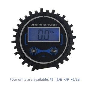 Image 5 - 0 200 PSI misuratore di pressione dei pneumatici manometro Automobile auto camion gonfiatore di pneumatici pneumatici con calibro quadrante Tester