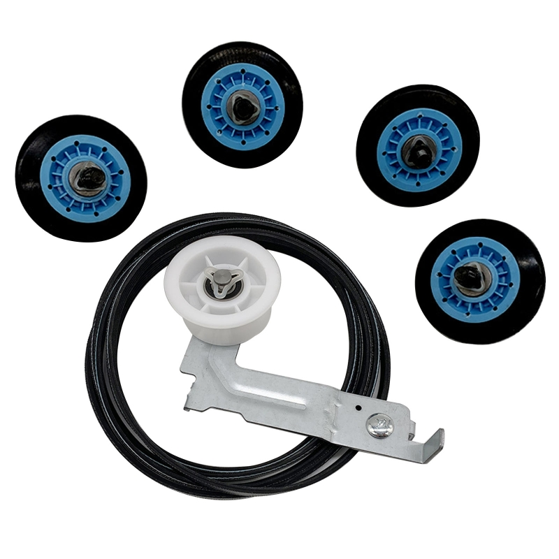 Drying Machine Drum Roller Repair Kit Clothes Dryer Replacement Belt for dv48h7400ew/a2 dv42h5000ew/a3 Dryer Accessories