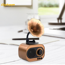 COJINMA Portable Classic Phonograph Style Vintage Bluetooth Speaker,Strong Bass Enhancement,Loud Volume,TF Card and MP3 Player