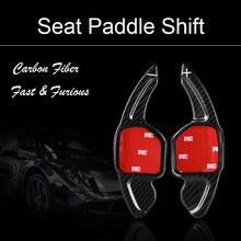 مجداف عجلة القيادة من ألياف الكربون ، ملحق لـ Seat Leon SC ST 5F FR Cupra Ateca Ibiza 6P Alhambra Tarraco 2013 2019