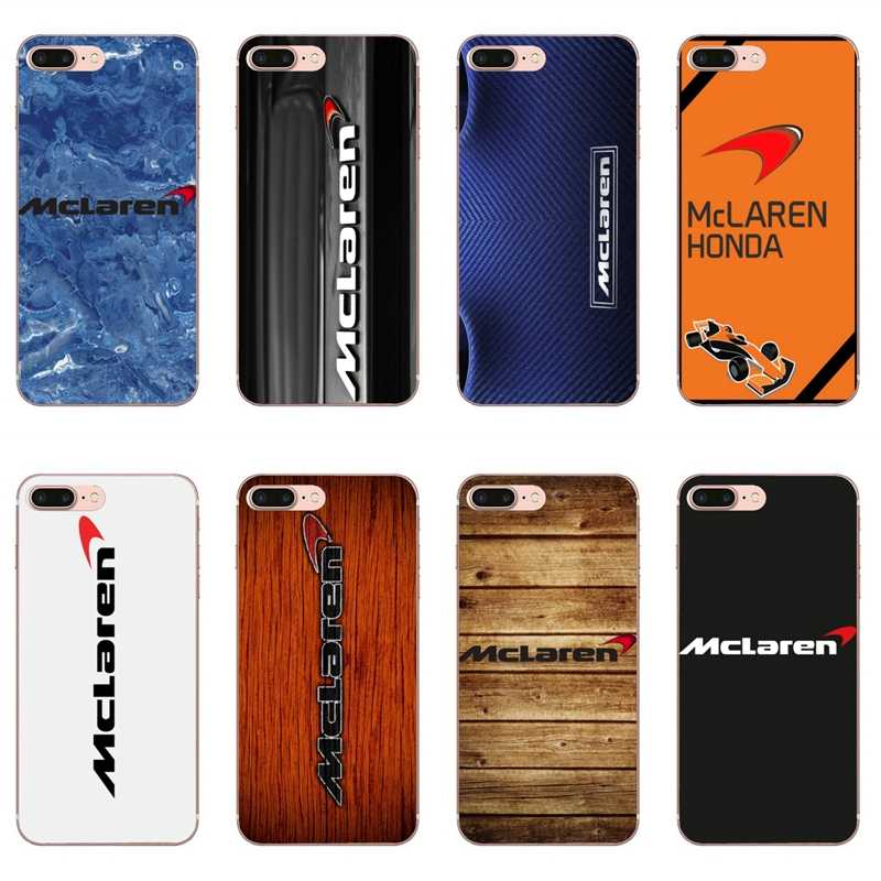 Mclaren logo racing auto Fall für iPhone 11 Pro XS Max XR X 8 7 6 6S Plus 5 5S SE Silikon Soft Cover Fall