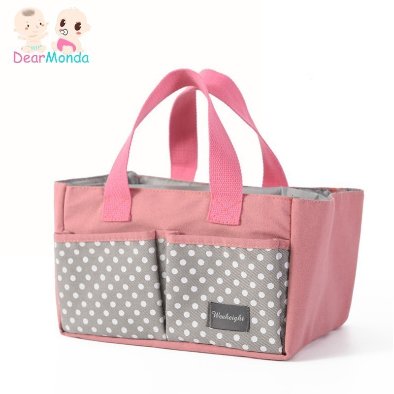 DEARMONDA 2019 Baby Diapers Nappy Changing Bag Mummy Bag Bottle Storage Maternity Handbags Organizer Stroller Accessories New