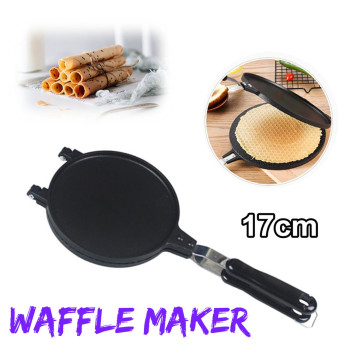 Household Waffle Bake Maker Kitchen Non-Stick Aluminum Alloy Waffle Maker Pan Mould Mold Press Plate Waffle Iron Baking Tools