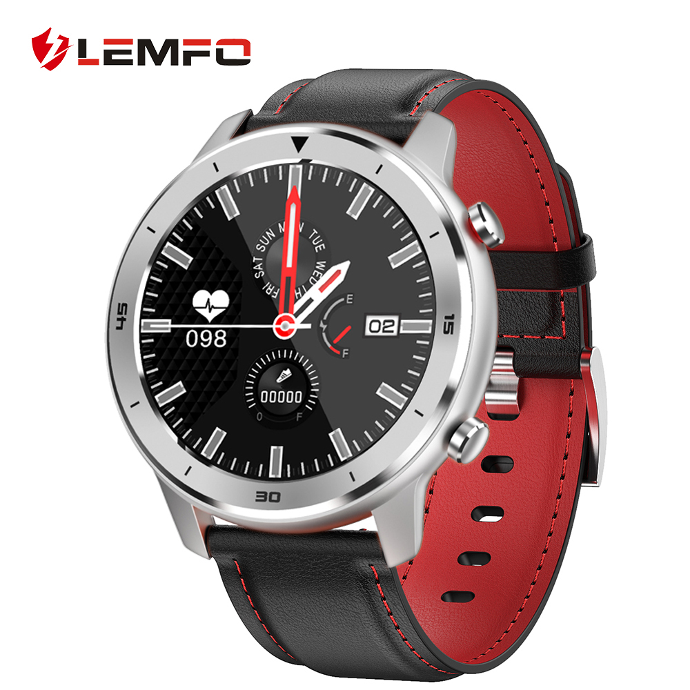 LEMFO Smart Watch Full Touch Screen Heart Rate Blood pressure Monitor IP68 Waterproof Smartwatch Men Women for Huawei Android|Smart Watches| |  - AliExpress
