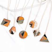 circular necklace, square, metal, multilayer, hip hop, long chain, cool, simple necklace, ladies and gentleman, jewelry, gifts