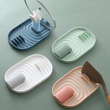 Rack-Mat Organizer Tableware-Holder Spoon-Rack Cooking-Tool Heat-Resistant Kitchen Draining